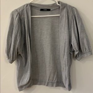 Sweaters - Little grey short sleeved sweater